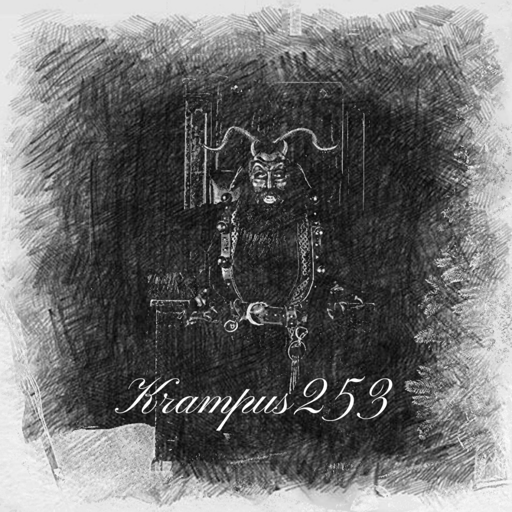 Krampus 253 sticker