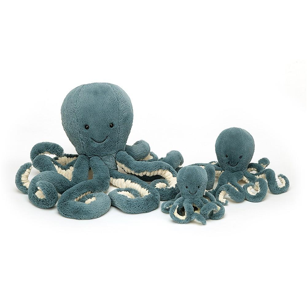Storm Octopus Plush Toy