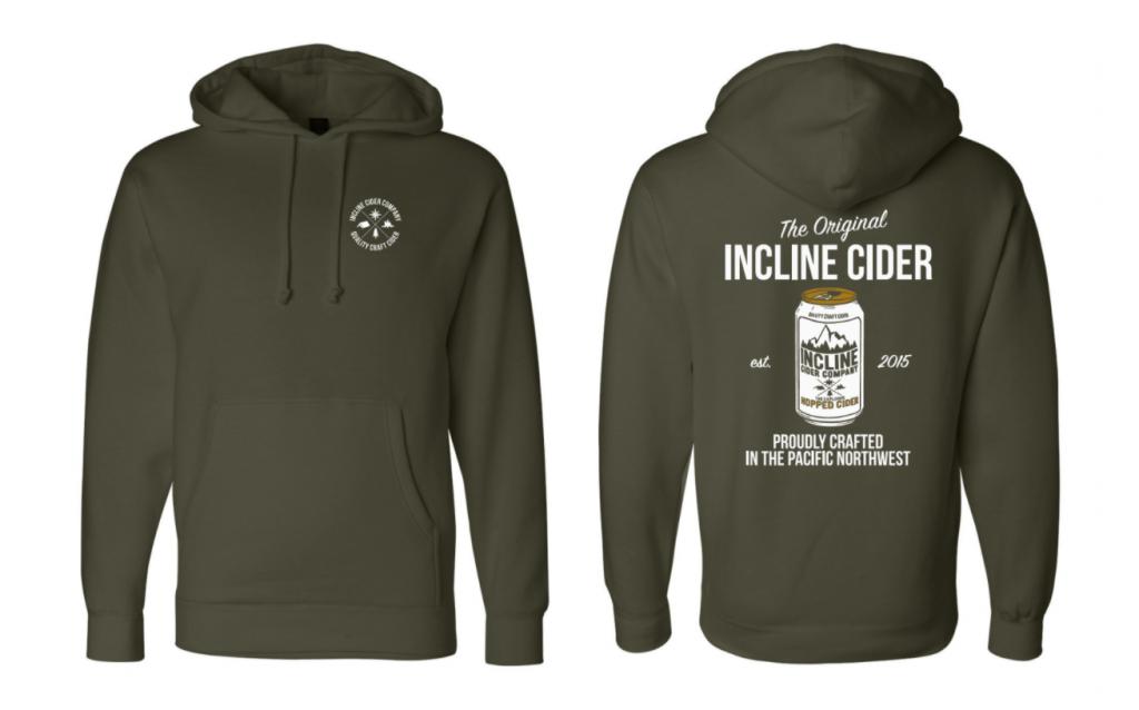 The Original Hooded Sweatshirt- Army