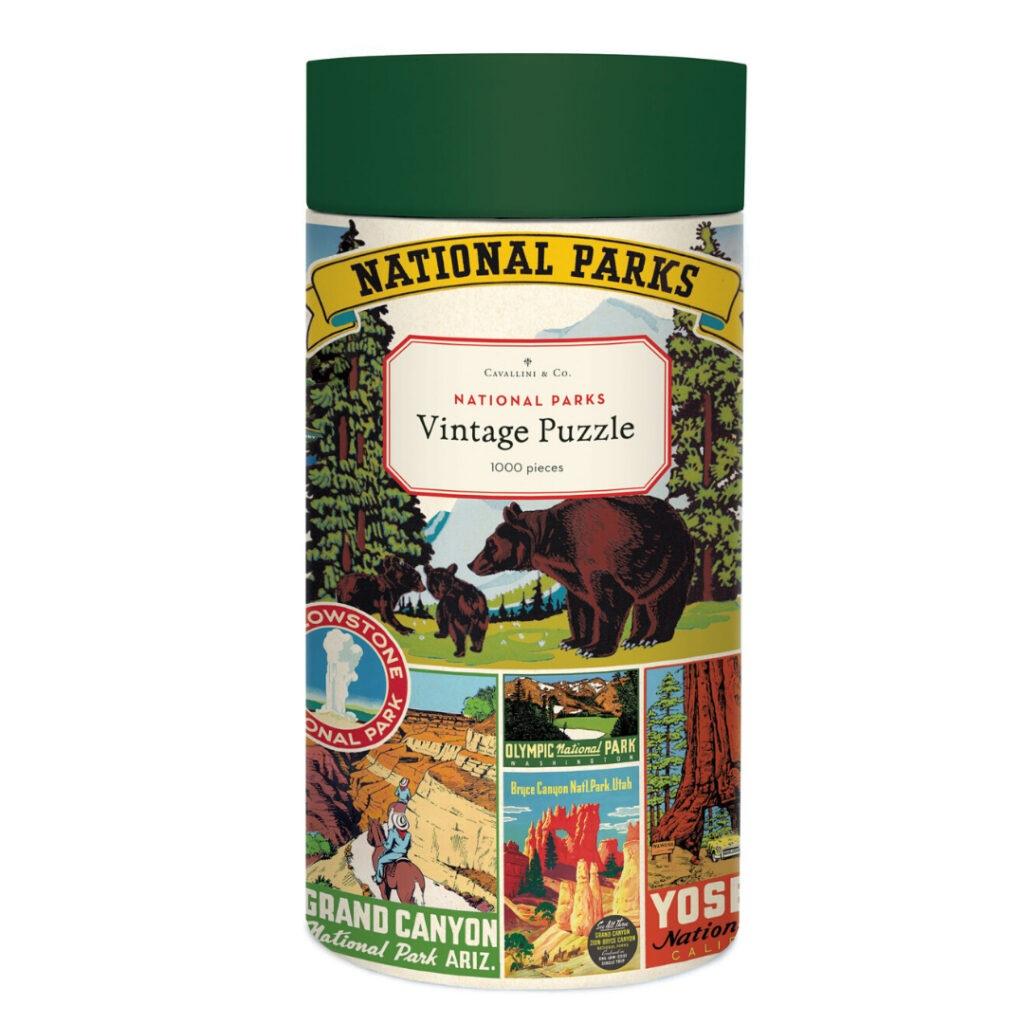 Cavallini & Co National Parks 1000 piece puzzle