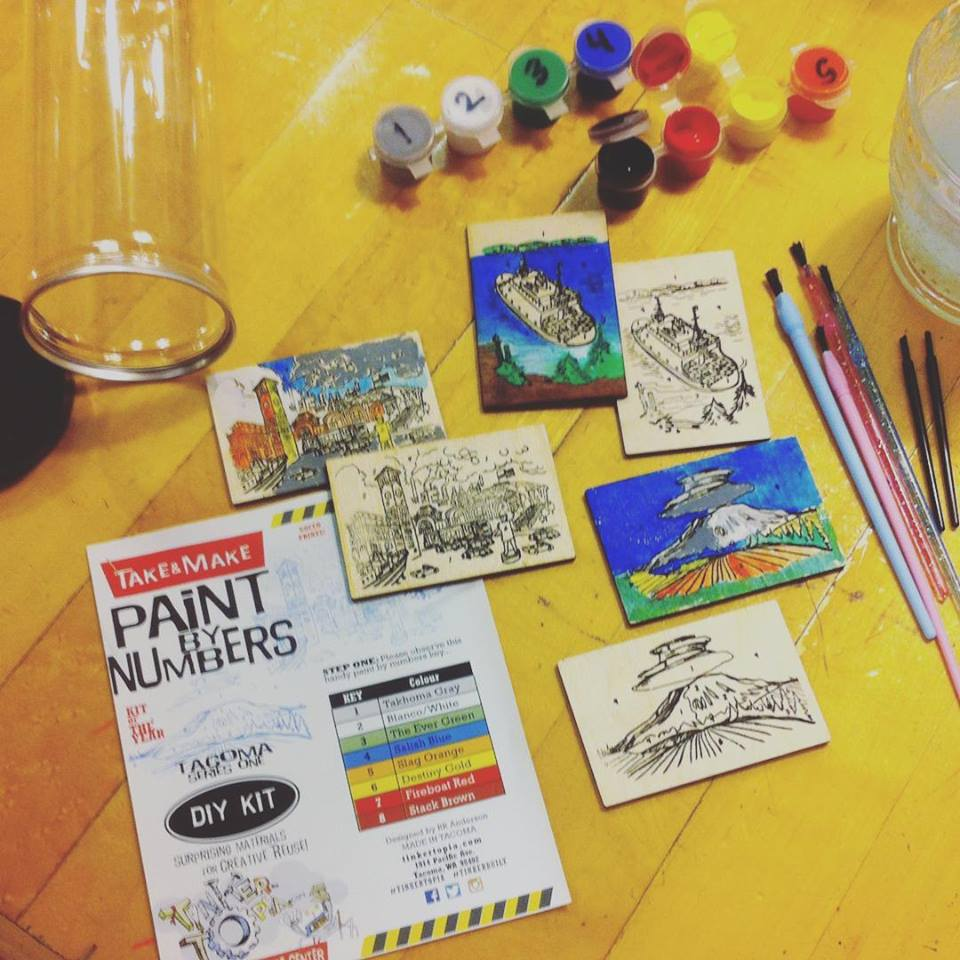Tacoma Paint by Numbers Kit